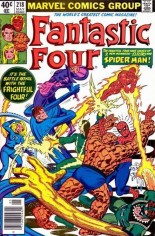 Fantastic Four (1961-1996) #218 Variant A: Newsstand Edition