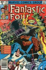 Fantastic Four (1961-1996) #219 Variant A: Newsstand Edition