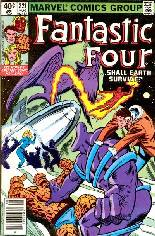 Fantastic Four (1961-1996) #221 Variant A: Newsstand Edition