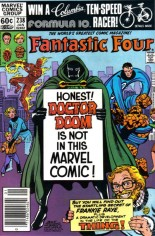 Fantastic Four (1961-1996) #238 Variant A: Newsstand Edition