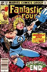 Fantastic Four (1961-1996) #245 Variant A: Newsstand Edition