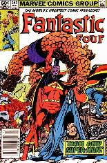 Fantastic Four (1961-1996) #249 Variant A: Newsstand Edition
