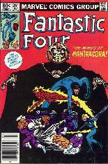 Fantastic Four (1961-1996) #254 Variant A: Newsstand Edition