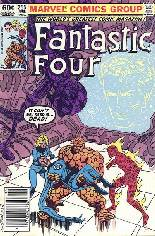 Fantastic Four (1961-1996) #255 Variant A: Newsstand Edition