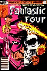 Fantastic Four (1961-1996) #257 Variant A: Newsstand Edition