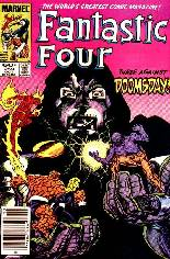 Fantastic Four (1961-1996) #259 Variant A: Newsstand Edition