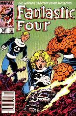Fantastic Four (1961-1996) #260 Variant A: Newsstand Edition