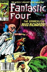 Fantastic Four (1961-1996) #261 Variant A: Newsstand Edition