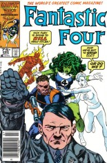 Fantastic Four (1961-1996) #292 Variant A: Newsstand Edition