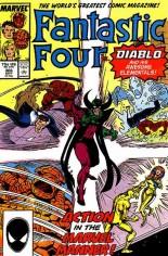 Fantastic Four (1961-1996) #306 Variant B: Direct Edition