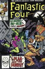 Fantastic Four (1961-1996) #321 Variant B: Direct Edition