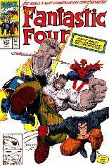 Fantastic Four (1961-1996) #348 Variant B: Direct Edition