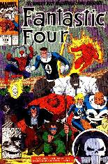 Fantastic Four (1961-1996) #349 Variant B: Direct Edition
