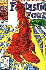 Fantastic Four (1961-1996) #353 Variant B: Direct Edition