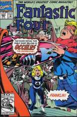Fantastic Four (1961-1996) #363 Variant B: Direct Edition