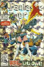 Fantastic Four (1961-1996) #375 Variant B: Direct Edition; Holofoil Cover