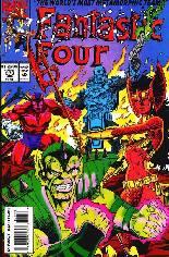 Fantastic Four (1961-1996) #378 Variant B: Direct Edition