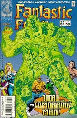 Fantastic Four (1961-1996) #405 Variant B: Direct Edition