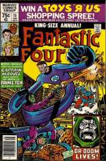 Fantastic Four (1961-1996) #Annual 15 Variant A: Newsstand Edition