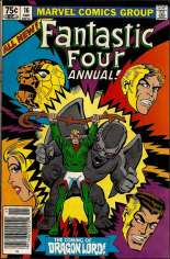 Fantastic Four (1961-1996) #Annual 16 Variant A: Newsstand Edition