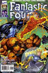 Fantastic Four (1996-1997) #1 Variant B: Direct Edition