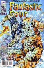 Fantastic Four (1996-1997) #2 Variant B: Direct Edition