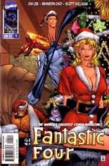 Fantastic Four (1996-1997) #4 Variant C: Christmas Cover