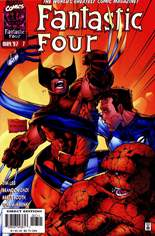 Fantastic Four (1996-1997) #7 Variant B: Direct Edition