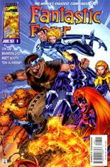 Fantastic Four (1996-1997) #8 Variant B: Direct Edition