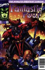 Fantastic Four (1996-1997) #11 Variant A: Newsstand Edition