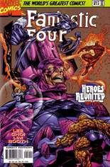 Fantastic Four (1996-1997) #12 Variant B: Direct Edition