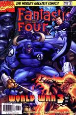 Fantastic Four (1996-1997) #13 Variant B: Direct Edition