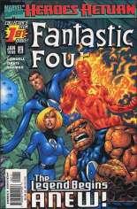 Fantastic Four (1998-2011) #1 Variant A