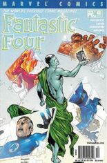 Fantastic Four (1998-2011) #48 Variant A: Newsstand Edition; Alternately Numbered #477