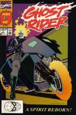 Ghost Rider (1990-1998) #1 Variant B: Direct Edition