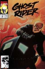 Ghost Rider (1990-1998) #13 Variant B: Direct Edition