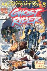 Ghost Rider (1990-1998) #31 Variant A: Not Polybagged