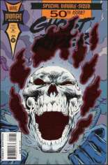 Ghost Rider (1990-1998) #50 Variant C: Direct Edition; Foil Cover