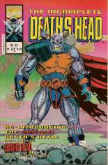 Incomplete Death's Head (1993) #2