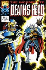 Incomplete Death's Head (1993) #5