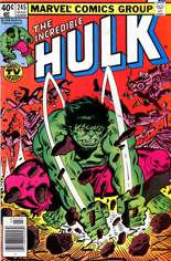 Incredible Hulk (1968-1999) #245 Variant A: Newsstand Edition