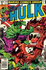 Incredible Hulk (1968-1999) #247 Variant A: Newsstand Edition