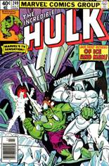 Incredible Hulk (1968-1999) #249 Variant A: Newsstand Edition