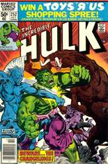 Incredible Hulk (1968-1999) #252 Variant A: Newsstand Edition