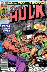 Incredible Hulk (1968-1999) #257 Variant A: Newsstand Edition
