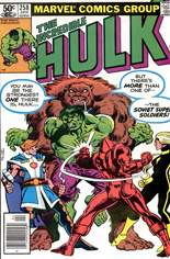 Incredible Hulk (1968-1999) #258 Variant A: Newsstand Edition