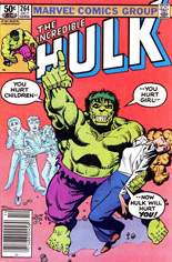 Incredible Hulk (1968-1999) #264 Variant A: Newsstand Edition