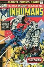 Inhumans (1975-1977) #2 Variant A
