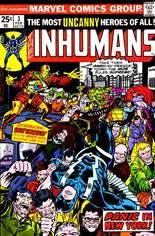 Inhumans (1975-1977) #3 Variant A