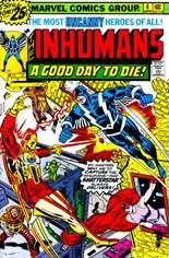 Inhumans (1975-1977) #4 Variant A